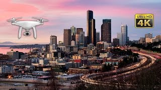 Download Amazing Drone Captures Seattle Landmarks from Above in 4K Ultra HD Video