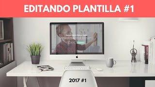 Download Edición Tema #1 - 2017 | Cómo editar Plantilla Web Html5 Responsive Gratis Video