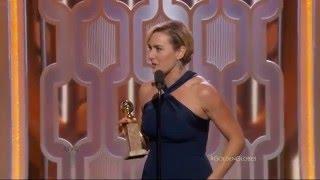 Download Golden Globe Awards 2016 - Kate Winslet Winner Video