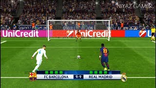 Download FC BARCELONA vs REAL MADRID   Penalty Shootout   PES 2017 Gameplay Video