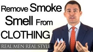Download How To Remove Smoke Smell From Mens Clothing - Removing Cigarette Cigar Smoking Scent Video