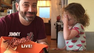 Download Jimmy Kimmel Tells His Daughter He Ate All Her Halloween Candy Video