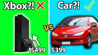 Download 8 Cars That Cost Less Than An Xbox One X!! Video