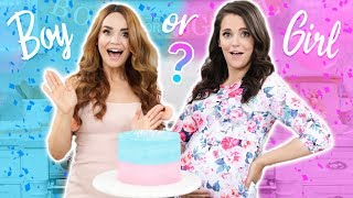 Download BABY GENDER REVEAL!! Gender Reveal Cake w/ my Sister! Video