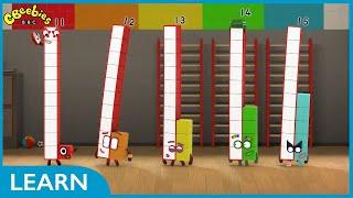 Download Stretching Tens | Numberblocks Video