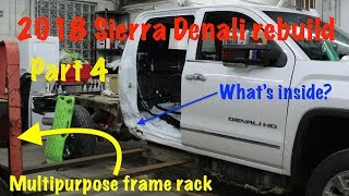 Download 2018 GMC Sierra Denali ″Dirtnali″ part 4: Pulling and trimming the damage Video