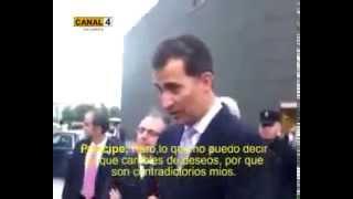Download Principe Felipe se encara a una ciudadana que le pregunta sobre un referéndum de la monarquía Video