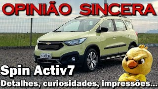 Download Spin Activ7 - Todos os detalhes, características e mais sobre a versão 2019 da Minivan brasileira Video