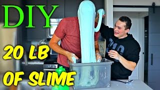 Download 20 LB of Slime - DIY Giant Slime Video