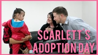 Download SCARLETT'S ADOPTION DAY | CHINA ADOPTION Video