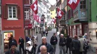 Download Zurich, Switzerland: Old Town walking tour Video