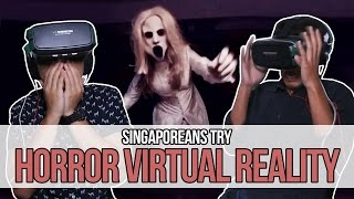 Download Singaporeans Try: Horror Virtual Reality | EP 74 Video