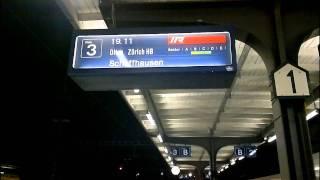 Download SBB Ansage Interregio 2039 Bern - Zürich - Schaffhausen in Langenthal Video