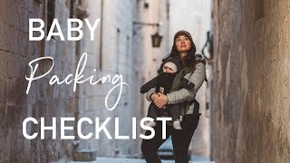 Download Baby Travel Packing Checklist | How to Pack Video