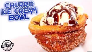 Download Churro Ice Cream Bowl - How to make DIY Video