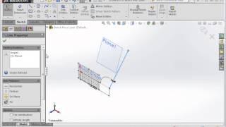 3d Sketch Solidworks
