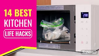 Download 14 best kitchen life hacks for all sorts of situations. Tips and Tricks Video