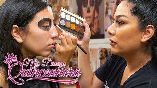 Download Day of the Dead Makeup | My Dream Quinceañera - Reunión Ep 6 Video