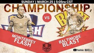 Download Ron Newman Cup Championship - Monterrey Flash vs Baltimore Blast Video
