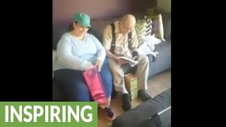 Download Deaf parents learn they'll be grandparents for the first time Video