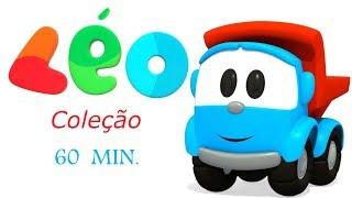 Download Léo o caminhão curioso. Compilação de 1 hora Video
