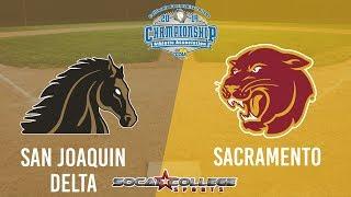Download CCCAA Softball: Sacramento City v SJ Delta - 5/19/19 - 10am Video