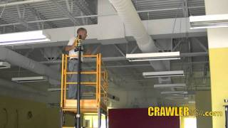 Download CRAWLER scaffold moving device Video