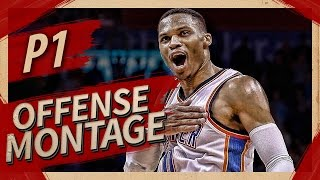 Download Russell Westbrook UNREAL Offense Highlights Montage 2016/2017 (Part 1) - NOT HUMAN! Video