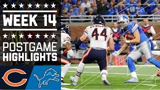 Download Bears vs. Lions   NFL Week 14 Game Highlights Video