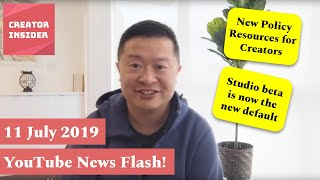 Download Newsflash Appetizer! Policy Resources for Creators and Studio Beta Updates! Video
