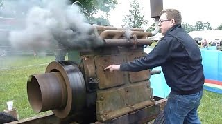 Download ANCIENT OLD ENGINES Starting Up And Running Videos Compilation Video