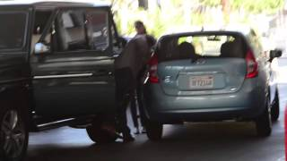 Download Sylvester Stallone gets into a bit of a fender bender in Beverly Hills, Ca Video