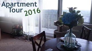 Download Apartment Tour 2016 | missmyluck91 | Thrifted Decor & Organization Video