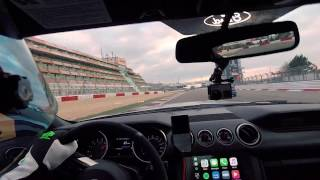 Download GT350 vs Bike Nürburgring GP Circuit Video