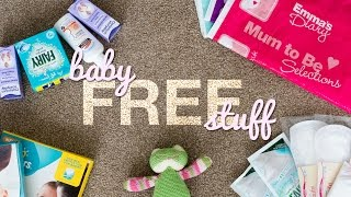 Download How To Get FREE Baby Stuff & Samples UK With Emma's Diary | Mum to Be | Bump to Baby | New Family Video