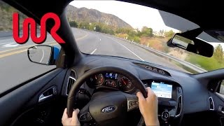 Download 2017 Ford Focus RS - WR TV POV City Drive Video