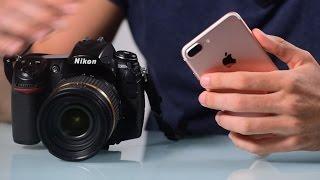 Download iPhone 7 Plus VS DSLR Camera Video
