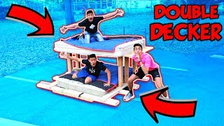 Download BED SURFING DOUBLE DECKER ELECTRIC BED!! Video