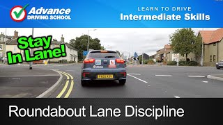 Download Roundabout Lane Discipline | Learning to drive: Intermediate skills Video