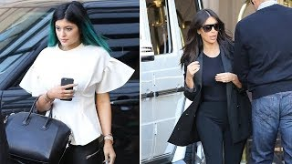 Download Kylie Jenner And Kim Kardashian Steal The Show At Kourtney's Baby Show [2014] Video