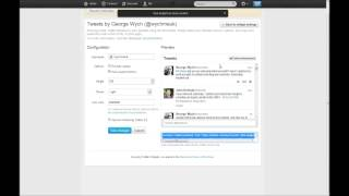 Download How To: Add Twitter Feed (v1.1 API) to a Wordpress Site in Under 2 Minutes! Video