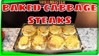 Download Baked Cabbage Steaks! (Two Types of Cheese!) Video