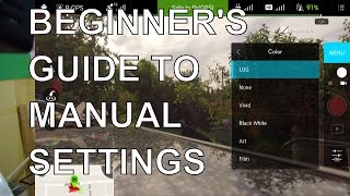 Download DJI Phantom 3 manual camera modes - a guide for non-photographers Video
