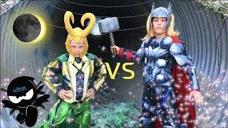 Download LOKI vs THOR! NINJA KIDZ! / Solar Eclipse! Video