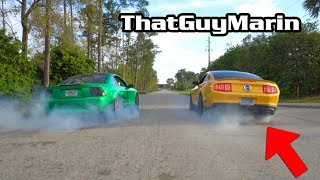 Download Side by Side Mustang Burnout Ft. ThatGuyMarin Video