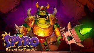 Download Spyro Reignited Trilogy | First In-game Look at Gnasty Gnorc! Video