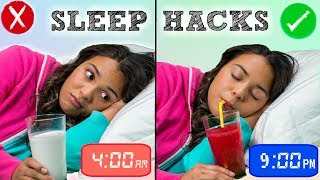 Download How to Fall Asleep FAST When You CAN'T Sleep! 10 Sleep Life Hacks! Video