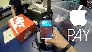 Download Using Apple Pay At Champs Sports In 4K Video