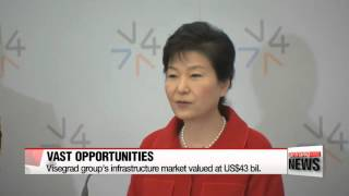 Download President Park holds first summit with Visegrad group 한-비세그라드 정상회의 공동성명 채택 Video