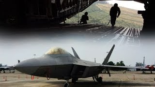 Download F-22 Raptors and Sukhois face-off in Malaysian airspace Video